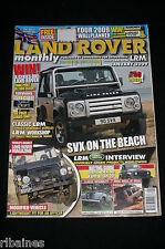 Land Rover Monthly January 2009, Defender 90 Guide/Lightweight/LPG Guide/Cabrio