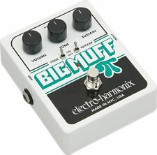NEW ELECTRO HARMONIX BIG MUFF DISTORTION PEDAL w/ TONE WICKER FREE US S&H