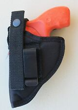 "Hip Belt Clip Holster for 2"" Barrel 38/357 Six Shot Small Revolvers"