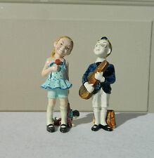 Gort Bone China Company Violin Percy and Sis - Bone China