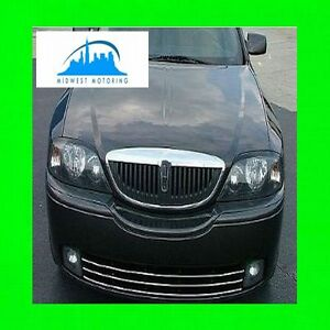 2000-2006 LINCOLN LS CHROME LOWER GRILLE TRIM 2001 2002 2003 2004 2005