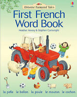 Farmyard Tales First French Word Book, Amery, Heather, Very Good Book