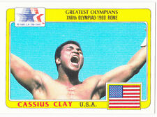MUHAMMAD ALI Vintage Boxing Card RARE CASSIUS CLAY BV$$ Greatest Olympians USA!