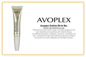 OPI Avoplex Cuticle Oil To Go with Nail Brush 0.25 fl oz/ 7.5ml (Pack of 1)