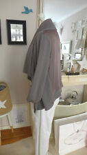 ✪ MARC O' POLO oversize Strickjacke Cardigan taupe Schurwolle GR XS S 36 38 M