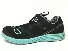 Brooks Green Silence Womens Running Yoga Shoes Turquoise Bk US 7.5 EU 38.5 EUC