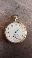 Vintage 12 Size Elgin Pocket Watch Grade 315 Running And Keeping Time