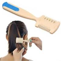 Hair Cutting Trimmer Razor Blade Comb for Thinning Bangs Hair Comb Cutting Tool