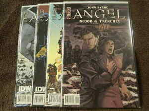 2009 IDW Comics ANGEL Blood & Trenches #1-4 Complete Limited Series Set - VF/NM