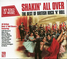 MY KIND OF MUSIC SHAKIN' ALL OVER - 2 CD BOX SET - BEST OF BRITISH ROCK 'N' ROLL