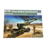 02306 M198 155MM Medium Howitzer Early Static Model Trumpeter 1/35 Scale kit