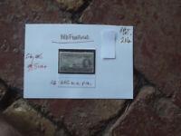 NEWFOUNDLAND 1937 King George VI, stamp 25c MH PERF 14 SG 266