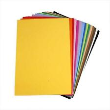30 Bogen MOOSGUMMI Moosgummiplatten Größe DIN A4, 15 Farben a 2 Stück 79018