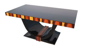 Art Deco Dining Table with Wonderful Palisander
