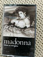 Madonna Like a Virgin Cassette Tape 1984 Shire Records