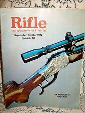 RIFLE 9/10 1977~JAGER STUTZEN~MODEL K FALLING BLOCK~S&W 59~UNION HILL BALLARD
