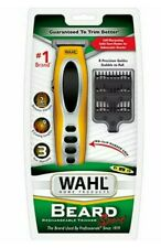 WAHL Beard - Rechargeable Yellow Trimmer Sport 9953- 200 Precision Blades NEW!