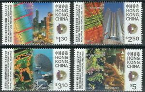 Hong Kong - Internationalen Währungsfonds Satz postfrisch 1997 Mi. 826-829