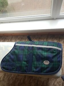 Original Weatherbeeta green blue padded dog pet coat size 65cm RRP £39.99 1 of 2