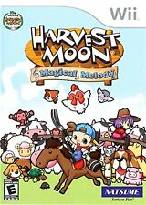Harvest Moon: Magical Melody [Nintendo Wii, NTSC, Collect Explore Farm Sim] NEW