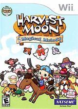 Harvest Moon: Magical Melody [Nintendo Wii, NTSC, Collect Explore Farm Sim] NEW