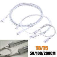 T5 T8 Röhren Steckverbinder Kabel Stecker Integriert für LED Leuchtstofflampe