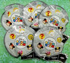 5 Disney Tsum Tsum Series 12 Mystery Stack Packs Sealed Mickey Mouse Vinyl