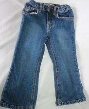 Children's Place Jeans Girls Size 3T flare leg blue