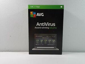 AVG AntiVirus - 1 PC / 1 Year - Global - CD