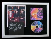 BRING ME THE HORIZON+SIGNED+QUALITY FRAMED+SPIRIT=100% GENUINE+FAST GLOBAL SHIP