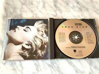 Madonna True Blue CD TARGET ERA MADE IN JAPAN! ORIGINAL 1986 SIRE 9 25442-2 RARE