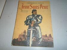 Jean sans peur illustré A Dumas Adaptation de Gagey 1942