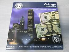 2004 Series CHICAGO Evolutions $20 & $50 Currency Note Matching Set