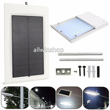 15LED Ultra-thin Waterproof Solar Sensor Wall Street Light Outdoor Garden Lamp#%