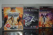 3 x PS3 Spiele - Saints Row - 3 Teile - USK 18 - TOP Spiele