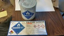 Calcium Carbide 10 lb can, Kitty litter sized grains