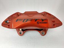 Brembo Camaro Fifty orange left front brake caliper + pads. NEW GM OEM