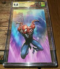 Spider-Geddon #0 CGC 9.8 Signature Series Clayton Crain Virgin Edition B Variant
