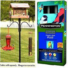Bird Pole Feeder Station Removable Hangers Bird House Pennington Cedar Works New
