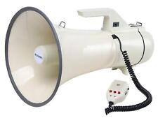 MCGREY MP-2000HRS MEGAPHON STADION FLÜSTERTÜTE MIKROFON SIRENE RECORDING 2400M