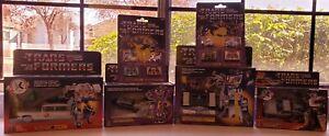 Transformers G1 Reissue-Soundwave,Ecto-1, Gigawatt,Astrotrain,Rav,Rum,Fren,Laser