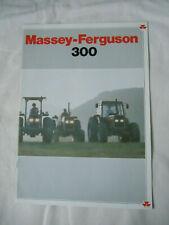 @Massey Ferguson 300 Series Tractor Brochure@