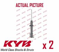 2 x FRONT AXLE SHOCK ABSORBERS PAIR STRUTS SHOCKERS KYB OE QUALITY 632078