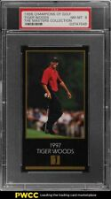 1998 Champions Of Golf Masters Collection Tiger Woods ROOKIE RC PSA 8 NM-MT
