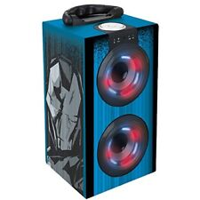 Avengers the Avengers Tower of Sound Laptop and Luminous with Bluetooth Blue
