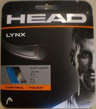 NEW Head LYNX  BLUE 16 G Guage Tennis String 40 foot Pack forty ft Set