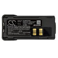 Batterie 3350mAh PMNN4409 PMNN4409AR PMNN4412 PMNN4448 Pour Motorola DP2600E