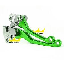 US For Kawasaki KX250 05-08 CNC Dirt Pit Bike Pivot Brake Clutch Levers A Pair