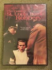 The Great St. Louis Bank Robbery (DVD, 2009)  BRAND NEW & SEALED (STEVE MCQUEEN)