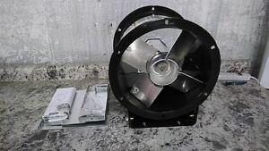 Dayton 4C659 12 In Blade Dia Steel Belt Drive Tubeaxial Fan w/out Motor